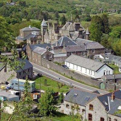 Pizarra CARMEN R1. Craig y Nos Castle, Wales. (Foto SSQ, London)