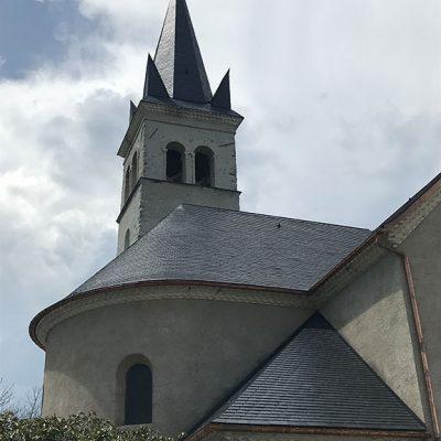 Iglesia de Chabottes, Francia (foto J.P. Catteau)