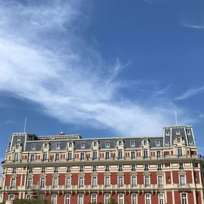 Pizarra CARMEN IDEAL 32x22cm – 8mm. Hotel Palais en Biarritz, Francia. (Foto J.P. Catteau)