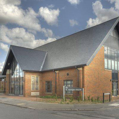 Pizarra Carmen, St Georges Church, UK. (foto SSQ).